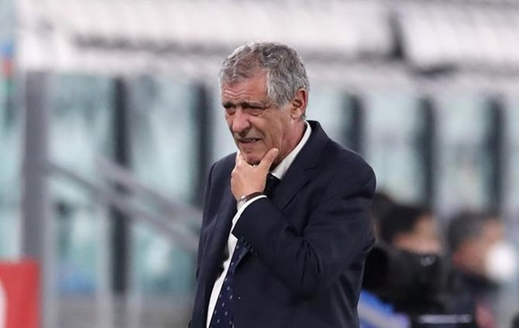 Nỗi thất vọng cùa thầy trò Santos - Ronaldo ảnh 1