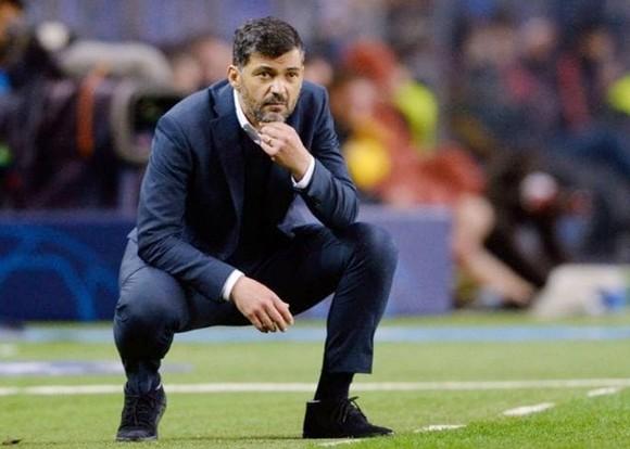 HLV Sergio Conceicao lo ngại Porto sẽ gặp khó trước một Chelsea đã cảnh giác. Ảnh: Getty Images
