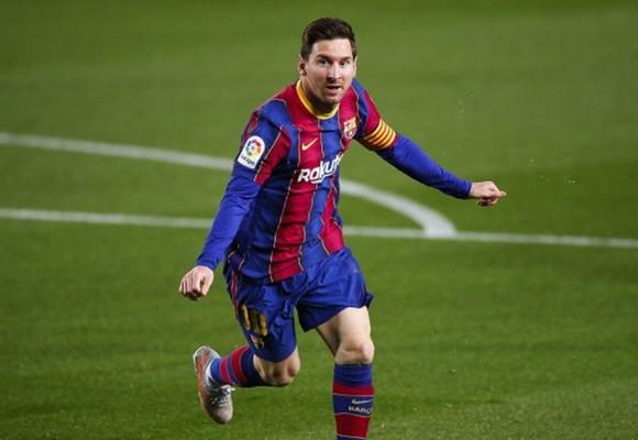 Lionel Messi tiếp tục bùng nổ phong độ ghi bàn. Ảnh: Getty Images