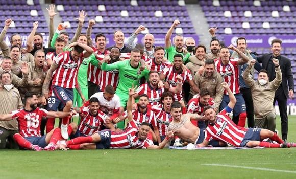 Atletico đã đang quang danh hiệu La Lga hoàn toàn xứng đáng.