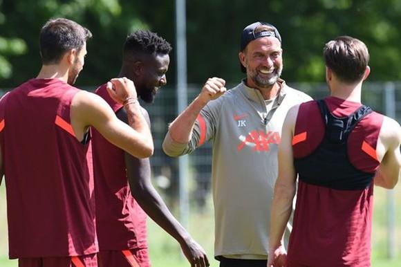 HLV Jurgen Klopp và Liverpool sắp kết thúc chuyến tập huấn tại Áo.