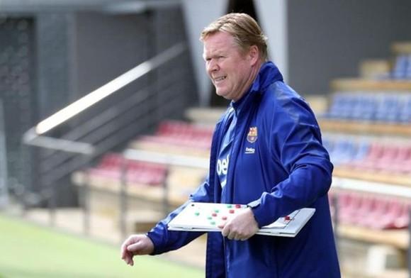 HLV Ronald Koeman đang chuẩn bị cho mùa giải thứ 2 đầy thử thách ở Barca.