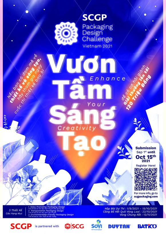 Thi thiết kế bao bì SCGP Packaging Design Challenge Việt Nam 2021