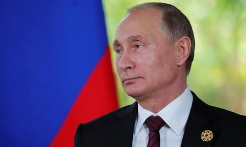 Tổng thống Nga Vladimir Putin. Ảnh: SPUTNIK
