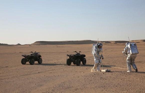 NASA thử nghiệm đời sống trên sao Hỏa