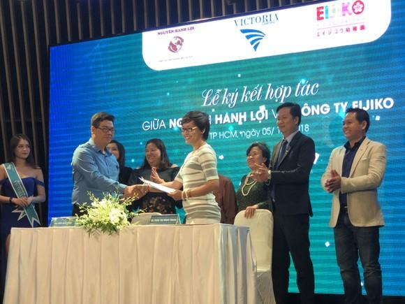 Công ty TNHH đầu tư – khai thác Nguyên Hanh Lợi ký kết hợp đồng với nhà đầu tư cho hạng mục trường học  