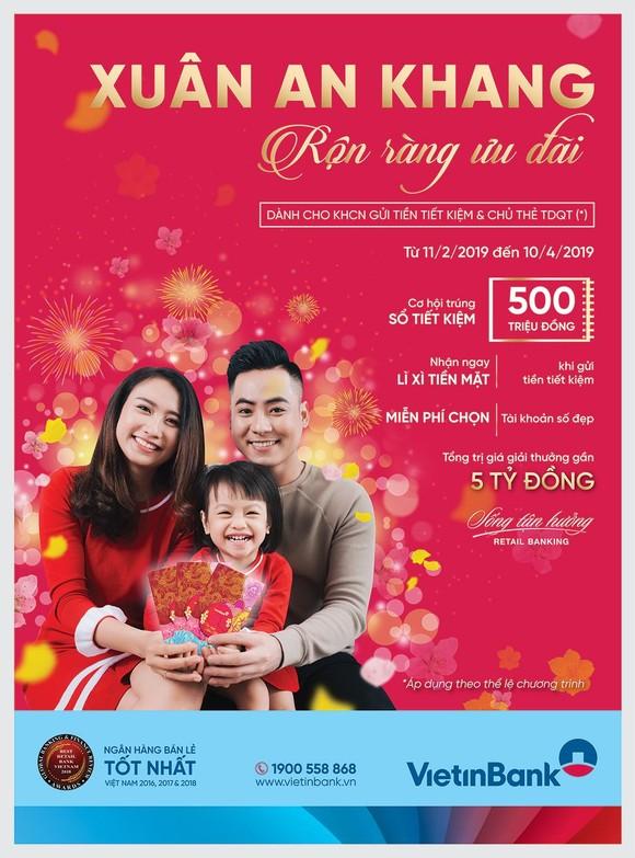 Hàng chục nghìn khách hàng VietinBank hưởng ưu đãi đầu xuân mới ảnh 1