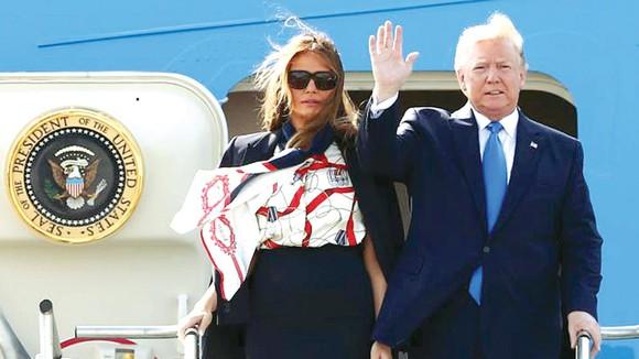 Tổng thống Mỹ Donald Trump đến Anh