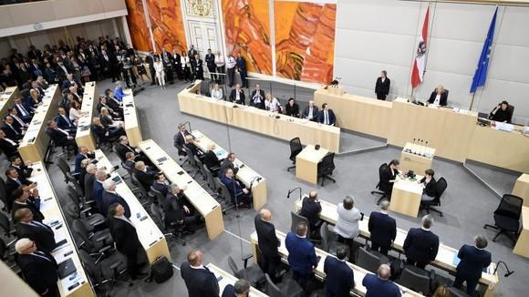 Áo hướng tới ngày bầu cử Quốc hội trước thời hạn. Nguồn: EPA