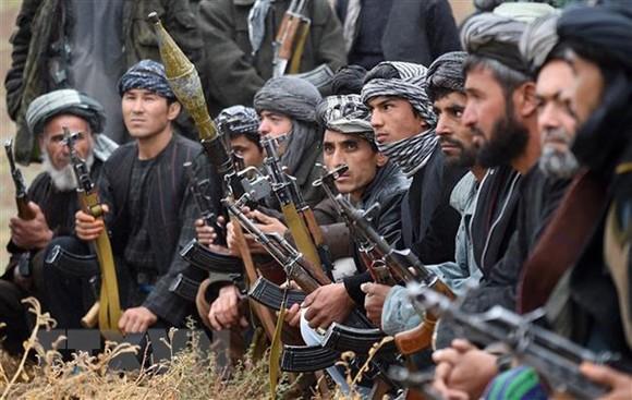 Các tay súng Taliban. Ảnh: TTXVN