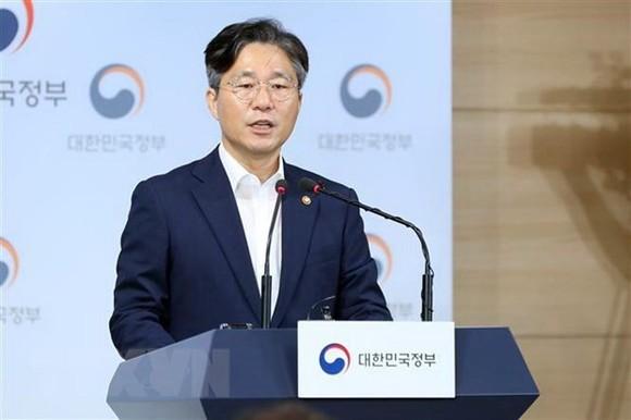 Bộ trưởng Thương mại Hàn Quốc Sung Yun-mo. Nguồn: Yonhap/TTXVN