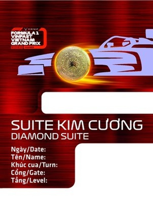Chiếc vé F1 lấy cảm hứng từ các biểu tượng văn hoá Việt ảnh 5