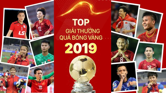 Top Giải thưởng QBV Việt Nam 2019. Infographic: HỮU VI