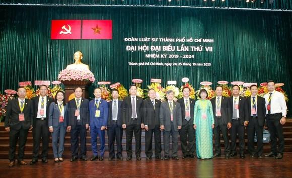 Ban Chủ nhiệm nhiệm kỳ mới ra mắt đại hội. Nguồn:HCMCPV.ORG