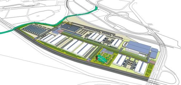 """""""Siêu cảng"""" Logistics do T&T Group làm chủ đầu tư dự kiến khởi công ngay tháng 12-2020 ảnh 1"""