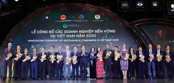 Tập đoàn Xây dựng Hòa Bình - Top 10 Doanh nghiệp bền vững 2020  ảnh 1