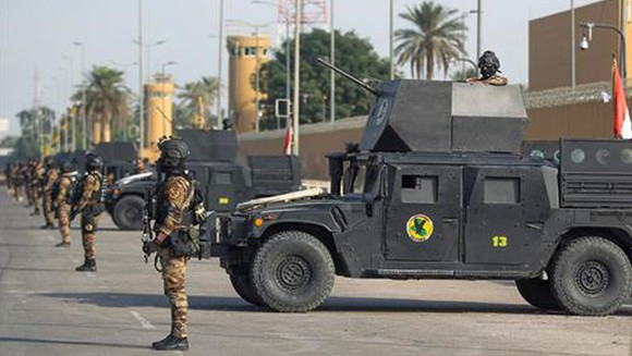 Iraq bắt nghi phạm tấn công Vùng Xanh ở Baghdad