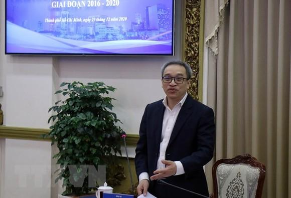 Thứ trưởng Bộ Thông tin và Truyền thông Phan Tâm phát biểu tại Hội nghị. Ảnh: TTXVN