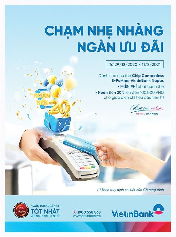 Chạm nhẹ nhàng - Ngàn ưu đãi cùng thẻ VietinBank