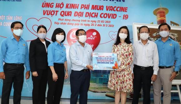 260 triệu đồng ủng hộ quỹ mua vaccine Covid-19