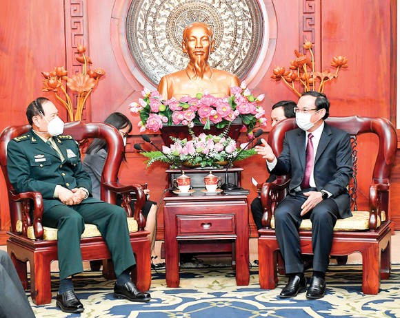 Thúc đẩy quan hệ đối tác chiến lược toàn diện Việt Nam - Trung Quốc  ảnh 1