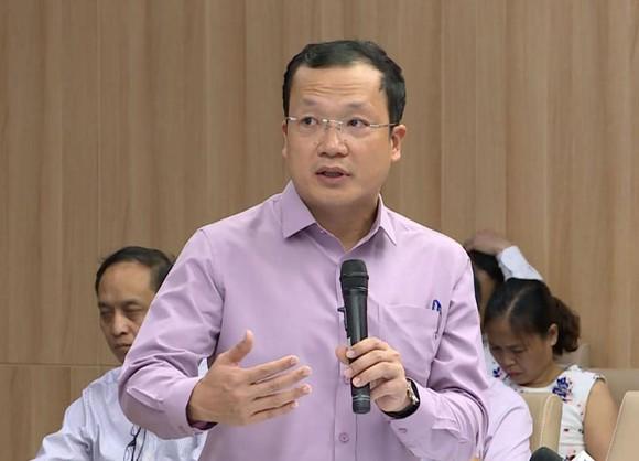 Ông Nguyễn Đức Ninh,  Giám đốc Trung tâm Điều độ hệ thống điện quốc gia