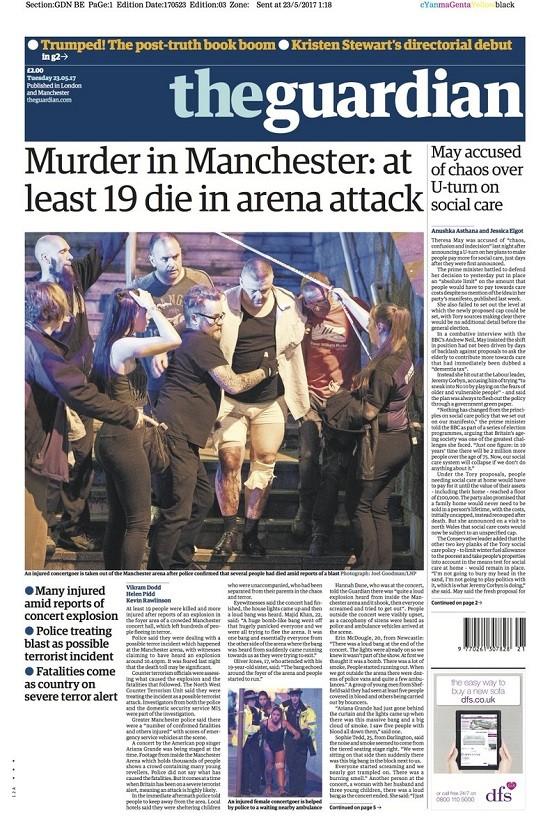 Anh: Nổ tại buổi biểu diễn ca nhạc, ít nhất 20 người thiệt mạng ảnh 3