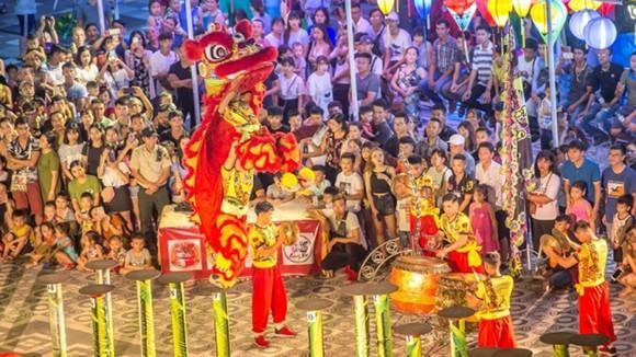 Mãn nhãn những màn trình diễn lân sư rồng tại Sun World Danang Wonders ảnh 3