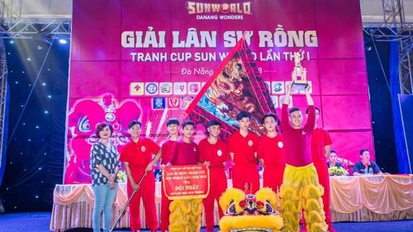 Mãn nhãn những màn trình diễn lân sư rồng tại Sun World Danang Wonders ảnh 6