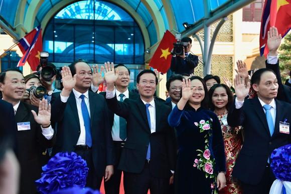 Chủ tịch Triều Tiên Kim Jong-un rời ga Đồng Đăng, kết thúc chuyến thăm hữu nghị chính thức Việt Nam ảnh 5