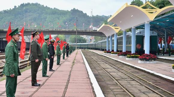 Chủ tịch Triều Tiên Kim Jong-un rời ga Đồng Đăng, kết thúc chuyến thăm hữu nghị chính thức Việt Nam ảnh 6