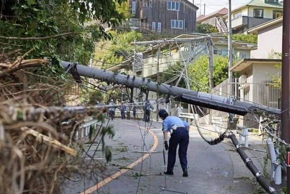 Nhật Bản tan hoang sau siêu bão Hagibis ảnh 18