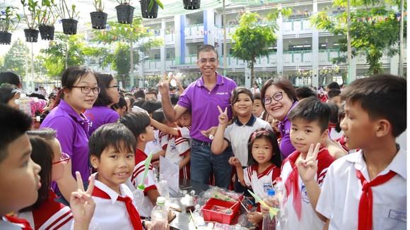 Mondelez Kinh Đô hỗ trợ giáo dục ý thức học sinh về bảo vệ môi trường