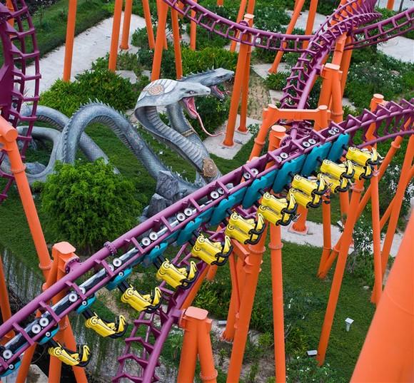 """Công viên châu Á sẽ là điểm vui chơi đêm """"xịn xò"""" nhất miền Trung ảnh 3"""