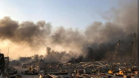 Nổ ở Beirut, hàng ngàn người thương vong ảnh 15