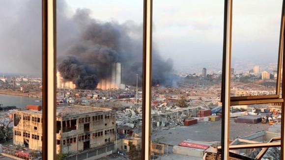 Nổ ở Beirut, hàng ngàn người thương vong ảnh 16