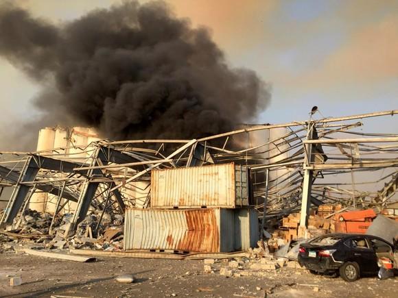 Nổ ở Beirut, hàng ngàn người thương vong ảnh 8