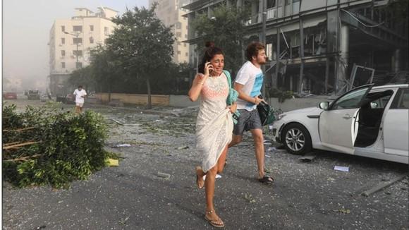 Nổ ở Beirut, hàng ngàn người thương vong ảnh 20