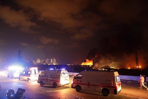 Nổ ở Beirut, hàng ngàn người thương vong ảnh 23