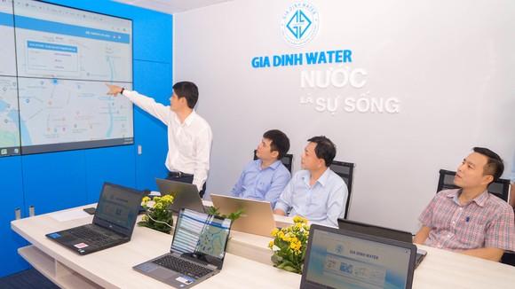 Cấp nước bằng công nghệ thông minh ảnh 1