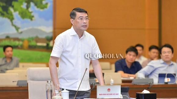 Thống đốc Lê Minh Hưng. Ảnh: Quochoi.vn