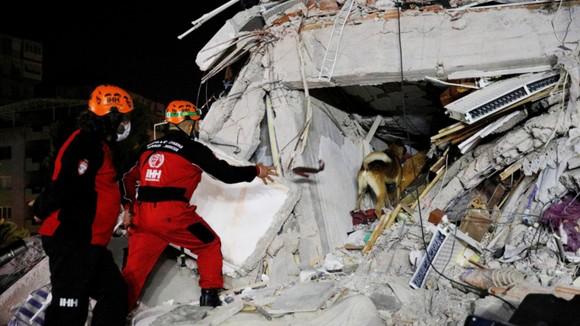 Ít nhất 22 người thiệt mạng do động đất ở Thổ Nhĩ Kỳ và Hy Lạp ảnh 6