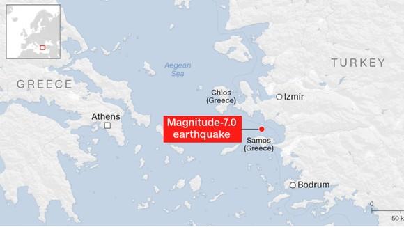 Ít nhất 22 người thiệt mạng do động đất ở Thổ Nhĩ Kỳ và Hy Lạp ảnh 1