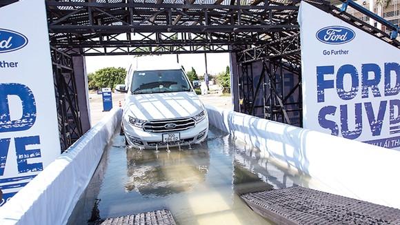 Sự kiện lái thử Ford SUV Drive 2020: Khởi động trải nghiệm Off-road khác biệt trên địa hình mô phỏng  ảnh 2