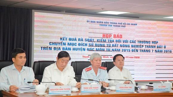 Các đại biểu tham dự buổi họp báo