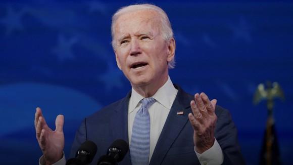 Ông Joe Biden chính thức trở thành tổng thống thứ 46 của nước Mỹ. Ảnh: REUTERS