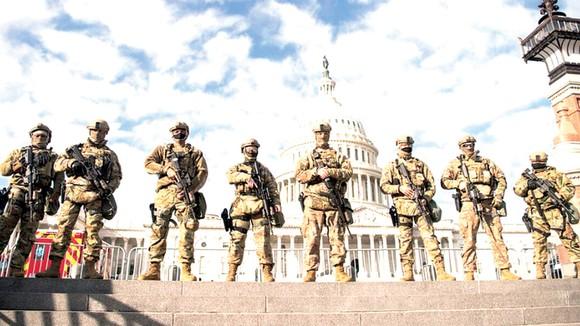 An ninh đang được thắt chặt tại Washington