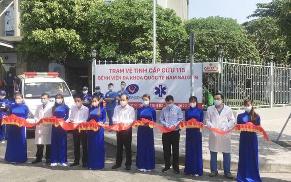 Lễ ra mắt Trạm cấp cứu vệ tinh 115 thứ 36 tại Bệnh viện Đa khoa quốc tế Nam Sài Gòn
