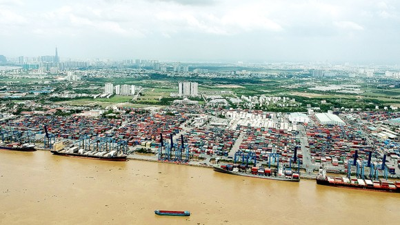 Cảng Tân Cảng - Cát Lái tại TP Thủ Đức. Ảnh: CAO THĂNG