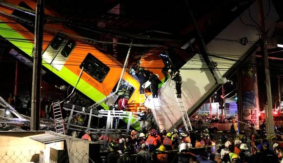 Sập đường sắt trên cao tại Mexico, ít nhất 23 người thiệt mạng ảnh 1